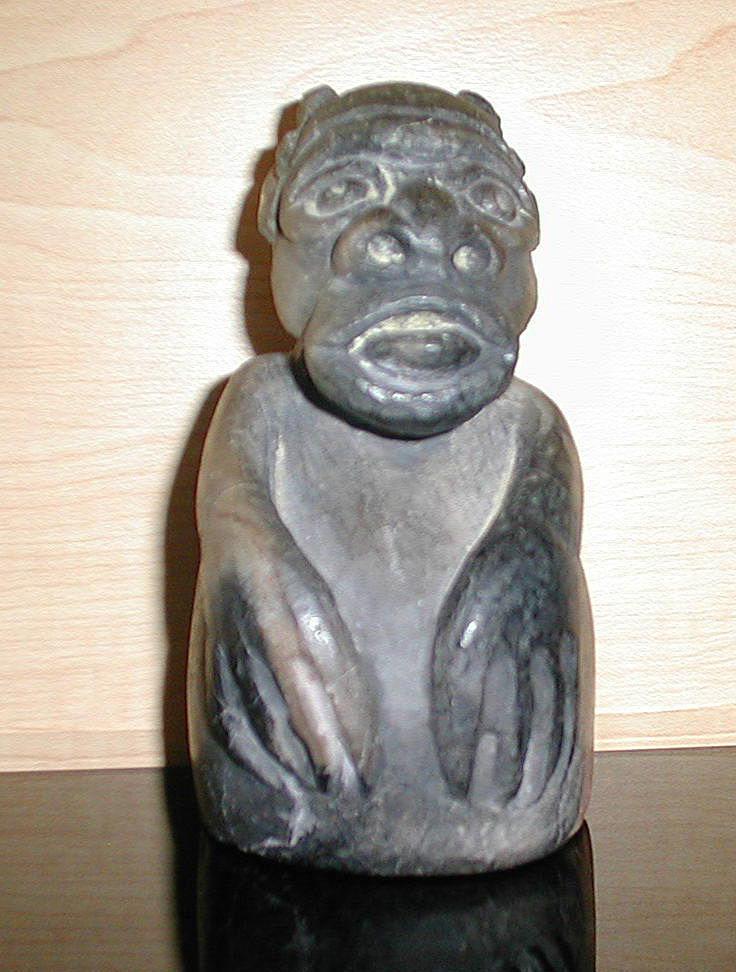 Grotesque sculpture