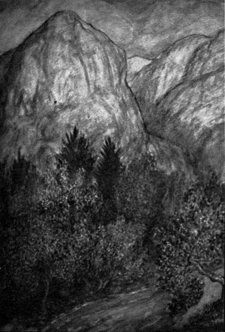 CLARK ASHTON SMITH Mountain_landscape