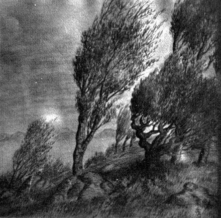 CLARK ASHTON SMITH Untitled_watercolor_1926